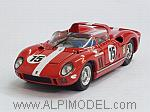 Ferrari 330 P #15 Le Mans Test Scuderia Filipinetti 1964 Spychinger - Muller by ART MODEL