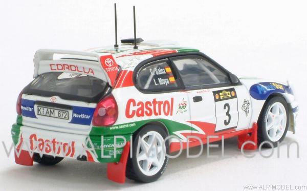 Auto Art Toyota Corolla Wrc Safari Rally 1999 3 Sainz