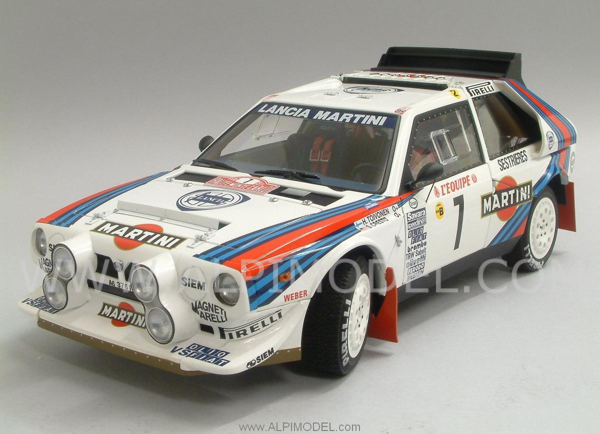 Lancia Delta S4 Martini 7 Winner Rally Monte Carlo 1986 Toivonen