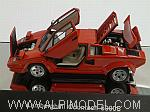 Lamborghini Countach 5000 S (Red)  with opening parts by AUTO ART