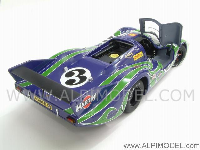 auto art porsche 917 lh 39 hippie 39 3 le mans 1970 kauhsen larrousse porsche promo 1 18 scale. Black Bedroom Furniture Sets. Home Design Ideas