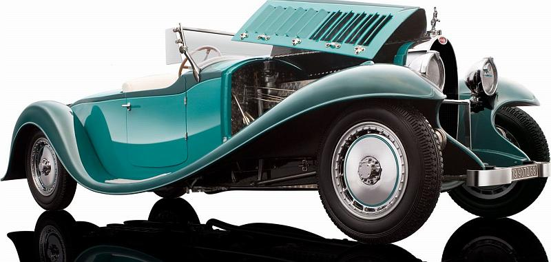 bauer bugatti royale roadster esders 1932 (green) high-end 1/18