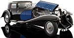 Bugatti Royale Coupe de Ville 1931 (Blue) HIGH-END 1/18 SCALE by BAUER