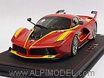 Ferrari FXX-K 1000CV (Rosso Corsa) with display case by BBR