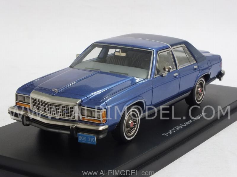 best-of-show Ford LTDS Crown Victoria (Blue) (1/43 scale model)