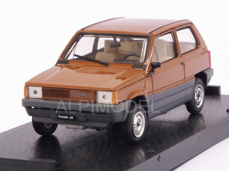 Fiat Panda 30 1980 Marrone 1:43 Brumm R386-05 Modellino Auto Diecast