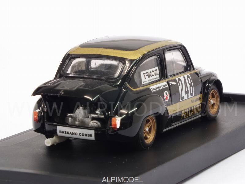 Brumm Fiat Abarth 1000 248 Trento Bondone 1976 Giancarlo