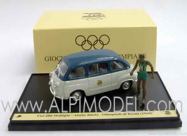 Brumm Fiat 600 Multipla Giochi Olimpici Roma 1960 Abebe
