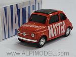 Fiat 500 Brums MATTEO - Vincere!  Special Edition by BRUMM