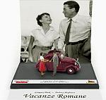 Fiat 500A Topolino ROMAN HOLIDAY - VACANZE ROMANE 1953 Audrey Hepburn-Gregory Peck (Limited Edition) by BRUMM