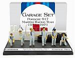 Garage Set 1970-71 Porsche  Team - Martini Racing by BRUMM