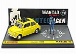 Fiat 500F Lupin III Wanted Jigen by BRUMM