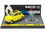 Fiat 500F Lupin III Wanted Goemon by BRUMM