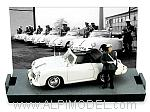 Porsche 356C Cabriolet Police Germany 1952 (Limited Edition 300pcs) by BRUMM
