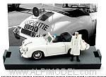 Porsche 356C Cabriolet Police Netherlands 1952 (Limited Edition 300pcs) by BRUMM
