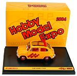 Fiat 600D 1960 HOBBY MODEL EXPO 2004 -  LIMITED EDITION 300pcs. by BRUMM