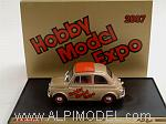 Fiat 500D 1960 HOBBY MODEL EXPO 2007 50th Anniversary Fiat 500 by BRUMM
