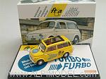 Autobianchi Giardiniera 1972 'Turbo Furbo' Limited Edition FTIA Switzerland 2010. (Yellow) by BRUMM.