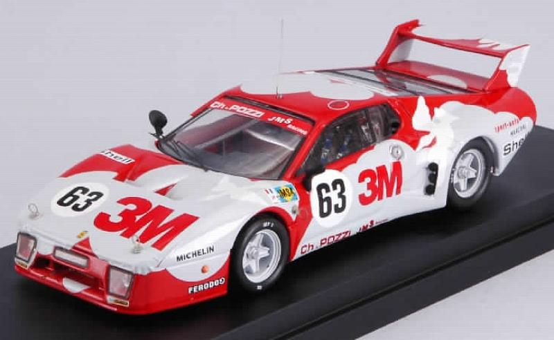 Best Model Ferrari 512 Bb Lm Le Mans 1979 Ballot Lena