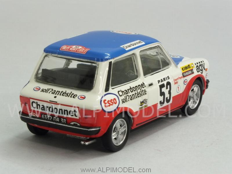 Best Model Autobianchi A112 Abarth 53 Rally Montecarlo