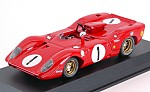 Ferrari 312 P Spider #1 Monza 1969 Andretti - Amon by BEST MODEL