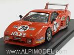 Ferrari 512 BB LM #74 Le Mans 1980 Henn - Delaunay by BEST MODEL.