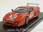 Ferrari 512 BB LM 3a Serie #72 Le Mans 1982 Cudini Morton - Paul by BEST MODEL.