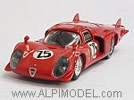 Alfa Romeo 33.3 Coupe #25 Daytona 1969 Dibos - Chappuis - Calabattisti - Chappuis by BEST MODEL