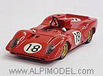 Ferrari 312 P Spider #18 Le Mans Test 1967  Brambilla - Schetty by BEST MODEL.