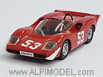 Abarth 2000 #53 Imola 1969 Ortner - Van Lennep by BEST MODEL