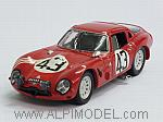 Alfa Romeo TZ2 #43 Le Mans 1965 Zeccoli - Rosinski by BEST MODEL