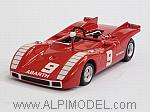 Abarth SP 2000 #9 GP Mugello 1970 Nino Vaccarella by BEST MODEL.
