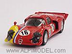 Alfa Romeo 33.2 Coupe #16 Spa 1968 Gosselin - Trosch by BEST MODEL