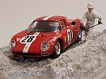 Ferrari 250 LM #28 Le Mans Test 1965 Spoerry - Boller (diorama) by BEST MODEL
