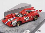 Ferrari  312 Coupe @24 Daytona 1970 Parkes - Posey (diorama) by BEST MODEL