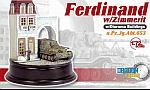Ferdinand Spzjgabt.653 Zimmerit With Diorama Buildings by DRAGON ARMOR