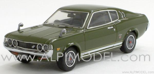 Ebbro Toyota Celica 2000 Gt Lift Back 1973 Green 1 43