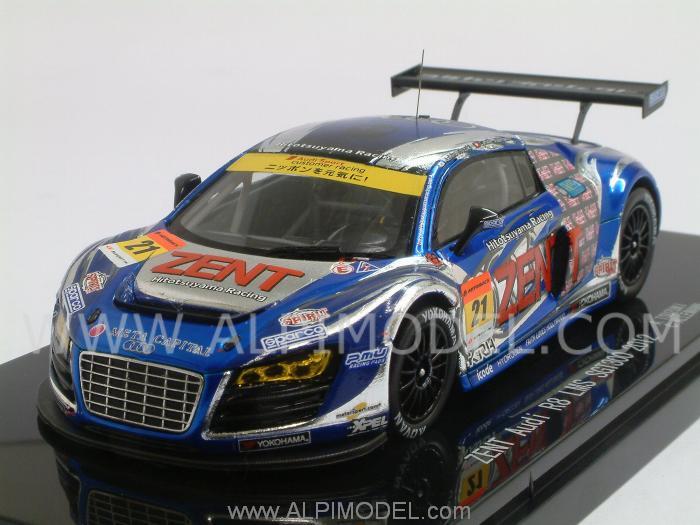 Ebbro Audi R8 Lms 21 Super Gt 300 2012 Tsuzuki Allemann