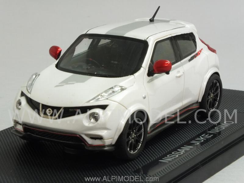 Ebbro Nissan Juke Nismo White 1 43 Scale Model