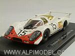 Porsche 917 Long Tail #15 Le Mans 1969 by EBBRO