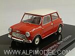 Morris Mini Cooper 1961 (Red/White) by EBBRO