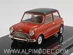 Morris Mini Cooper 1961 (Red/Black) by EBBRO