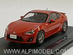 Toyota GT 86 (Red) by EBBRO