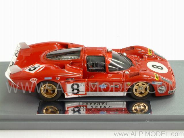Gasoline Ferrari 512 S S E F A C 8 Le Mans 1970