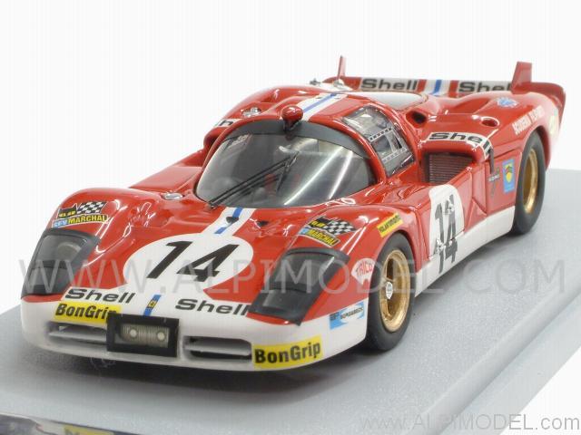 Gasoline Ferrari 512s Scuderia Filipinetti 14 Le Mans