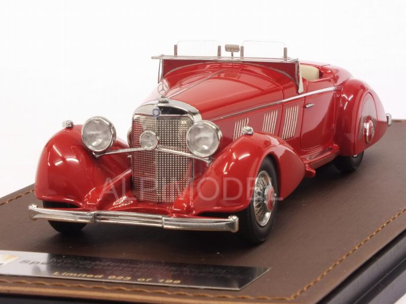 Mercedes 540K Spezial Roadster By Mayfair 1937 Red Glm Models