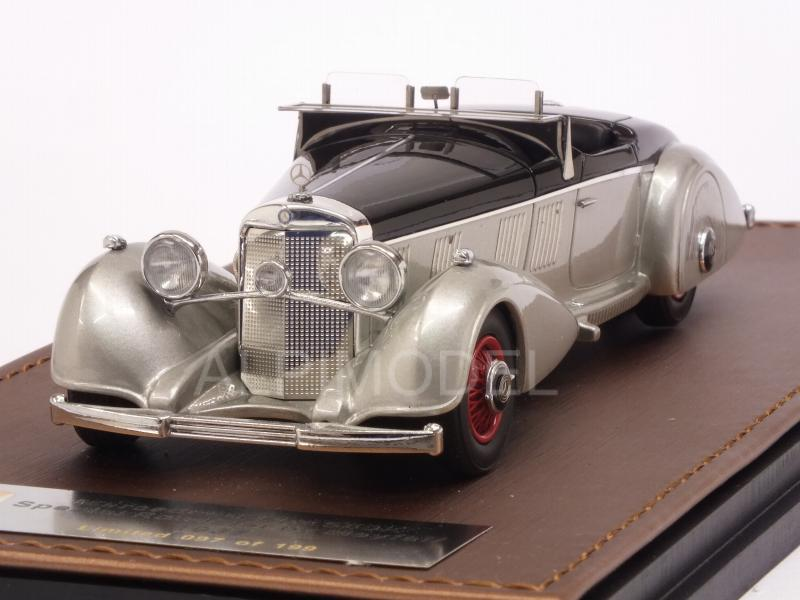 Mercedes 540K Spezial Roadster Mayfair 1937 Black Silver By Glm Models