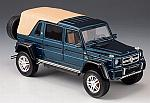 Mercedes-Maybach G650 Landaulet Closed 2017 (Blue Metallic) by GLM MODELS