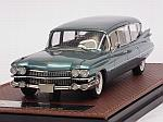 Cadillac Superior Station Wagon 1959 (Turquoise Metallic) by GLM MODELS