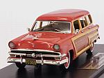 Ford Country Squire 1953 (Flamingo Red) by GOLDVARG